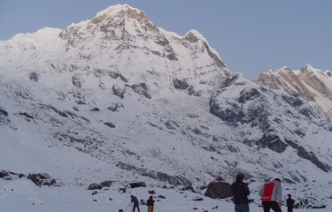 From the View of Annapurna Base Camp