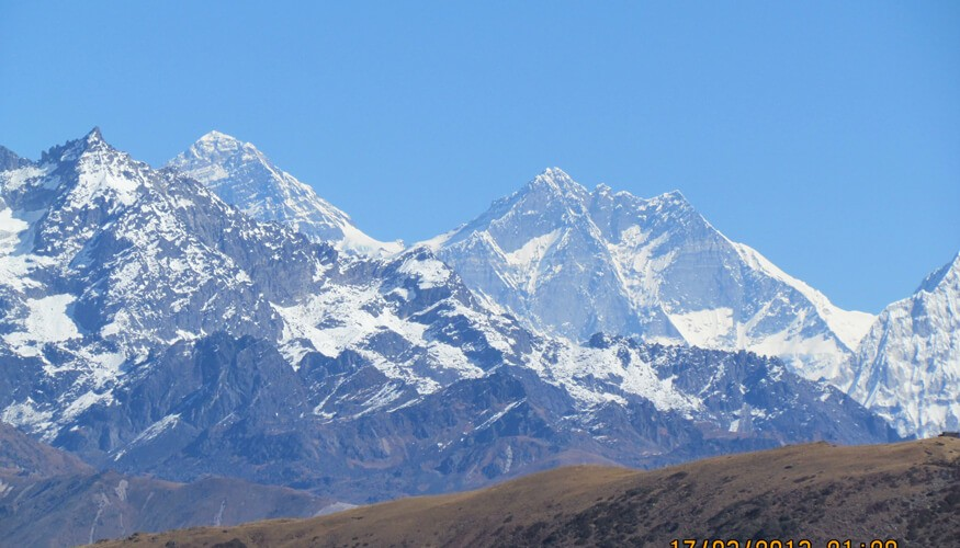 Everest View from Pikey Peak