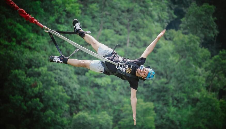 Adventure Bungee jump