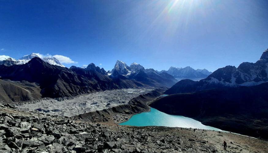 Gokyo Valley Everest view Trek