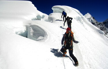 Island Peak Climbing via Everest 3 High Passes Trek